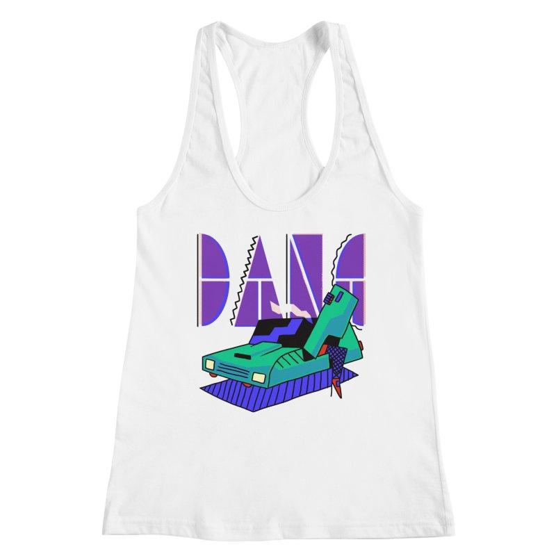 Dang Women's Racerback Tank by Burrito Goblin
