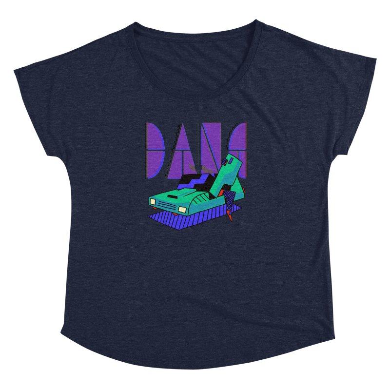 Dang Women's Dolman Scoop Neck by Burrito Goblin