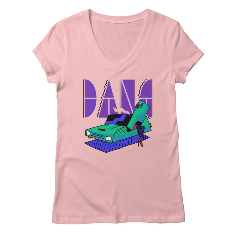 Dang Women's Regular V-Neck by Burrito Goblin