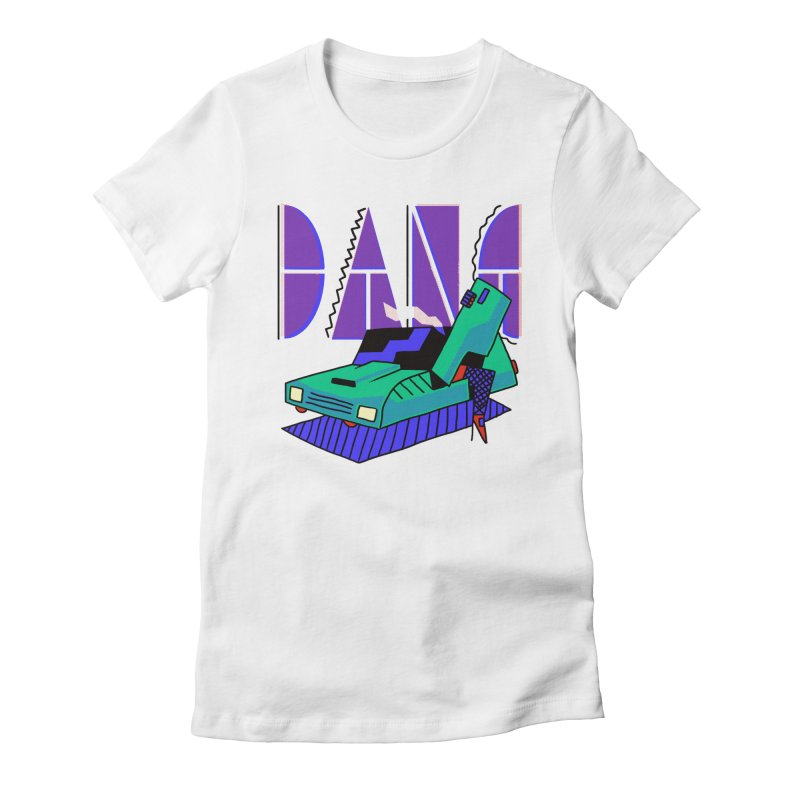 Dang Women's Fitted T-Shirt by Burrito Goblin
