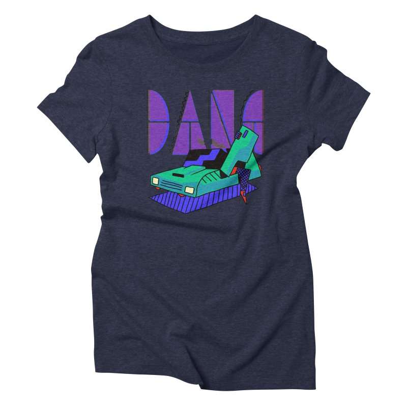 Dang Women's Triblend T-Shirt by Burrito Goblin