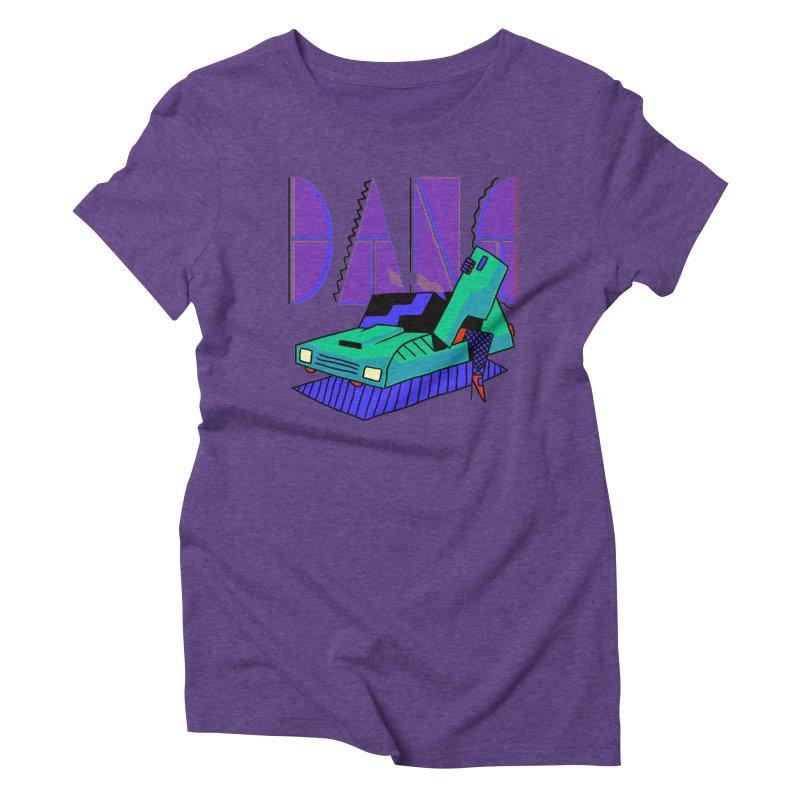 Dang Women's Triblend T-Shirt by Burrito Goblin