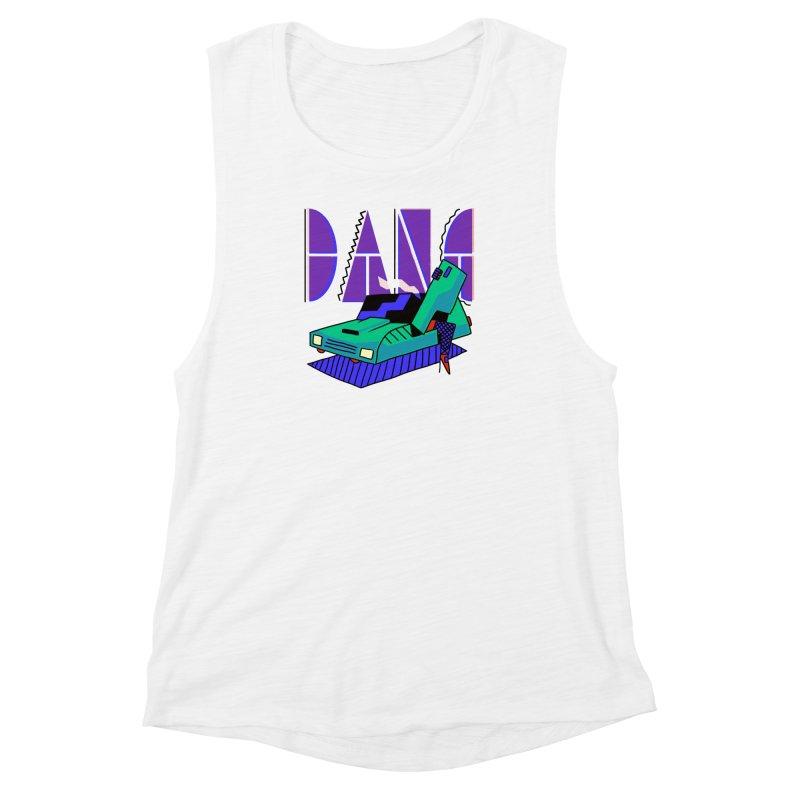 Dang Women's Muscle Tank by Burrito Goblin