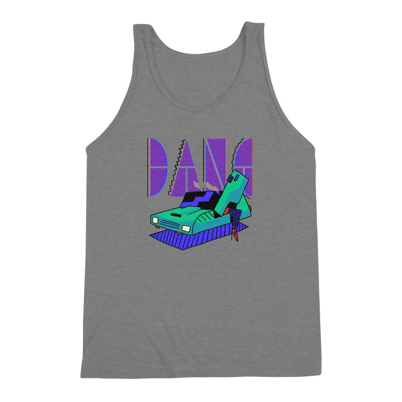 Dang Men's Triblend Tank by Burrito Goblin