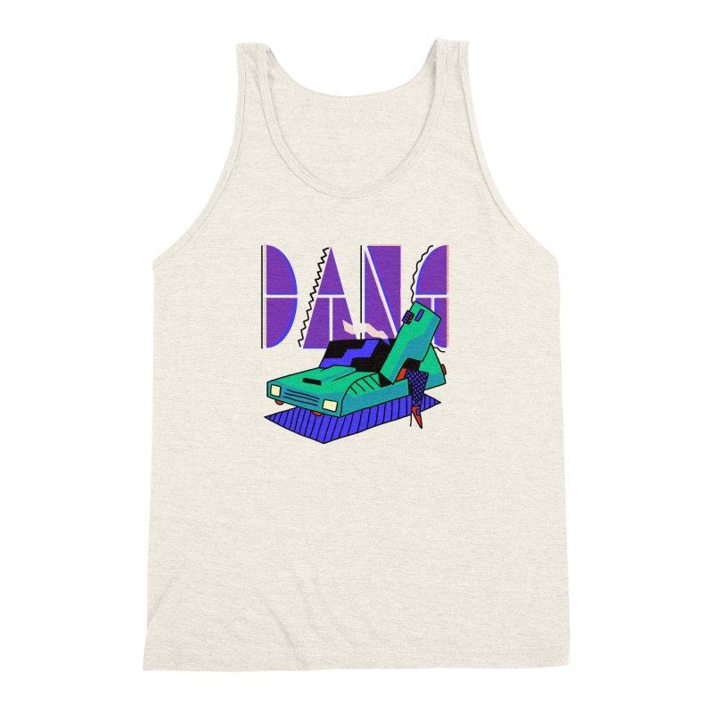 Dang Men's Triblend Tank by Burrito Goblin