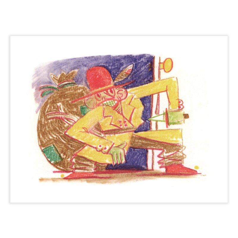 Roctober - Boogeyman Home Fine Art Print by Burrito Goblin