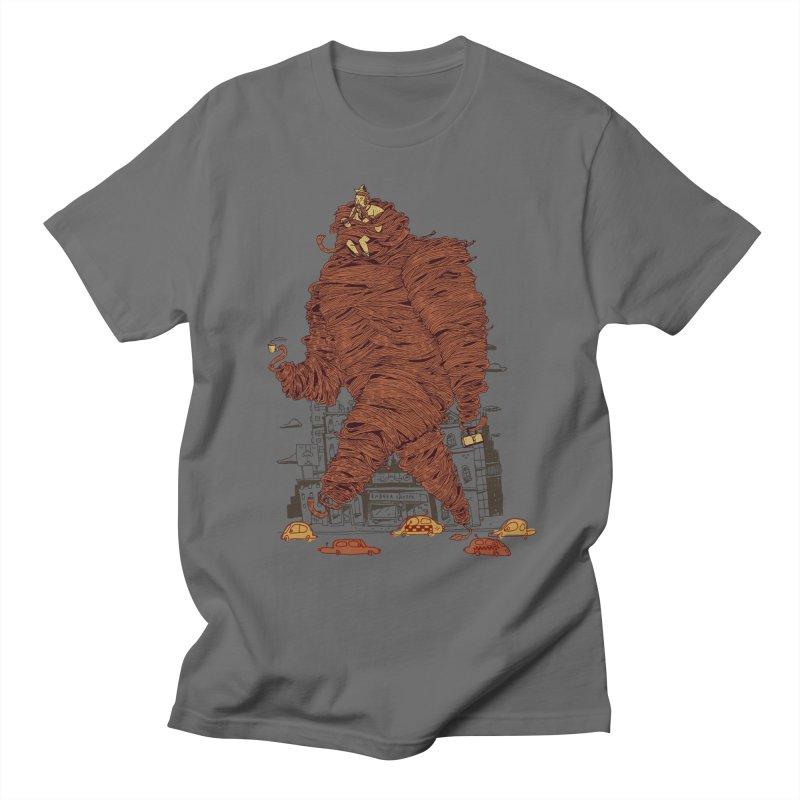 Mustache Ride Men's T-Shirt by Burrito Goblin