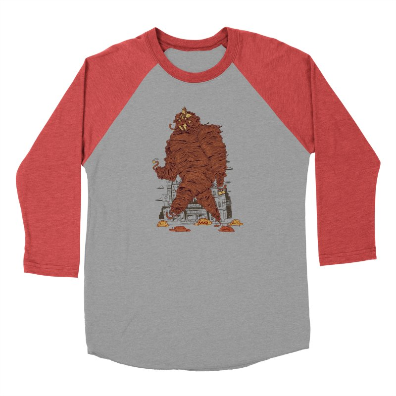 Mustache Ride Men's Longsleeve T-Shirt by Burrito Goblin