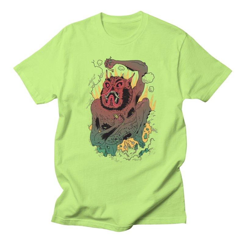 Oni Bologna Men's T-shirt by Burrito Goblin