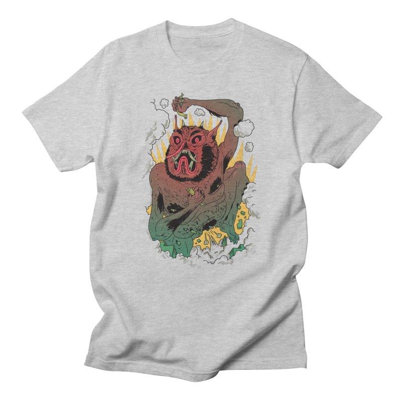Oni Bologna Men's Regular T-Shirt by Burrito Goblin