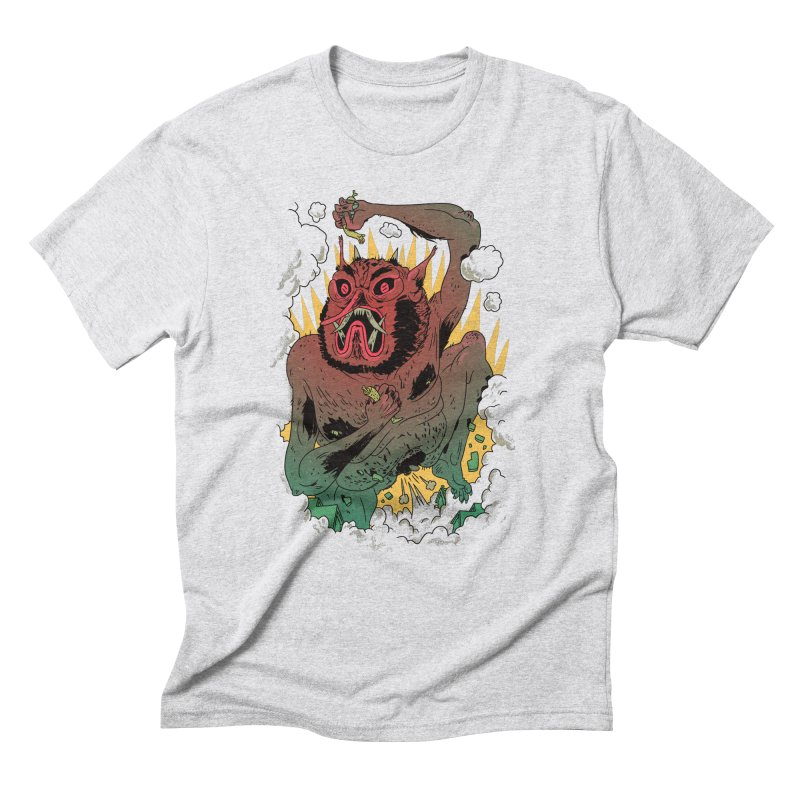 Oni Bologna Men's Triblend T-Shirt by Burrito Goblin
