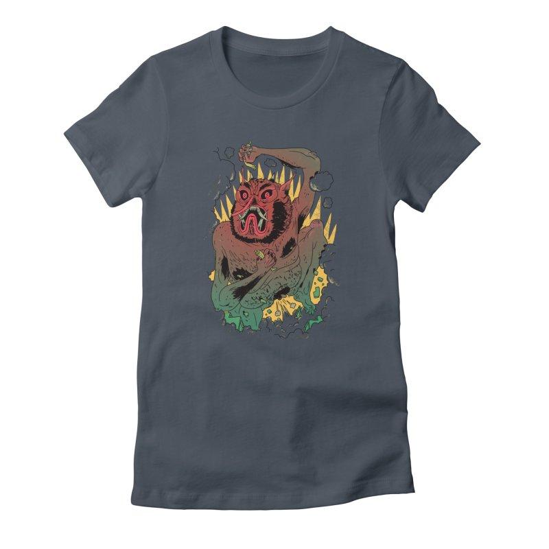 Oni Bologna Women's T-Shirt by Burrito Goblin
