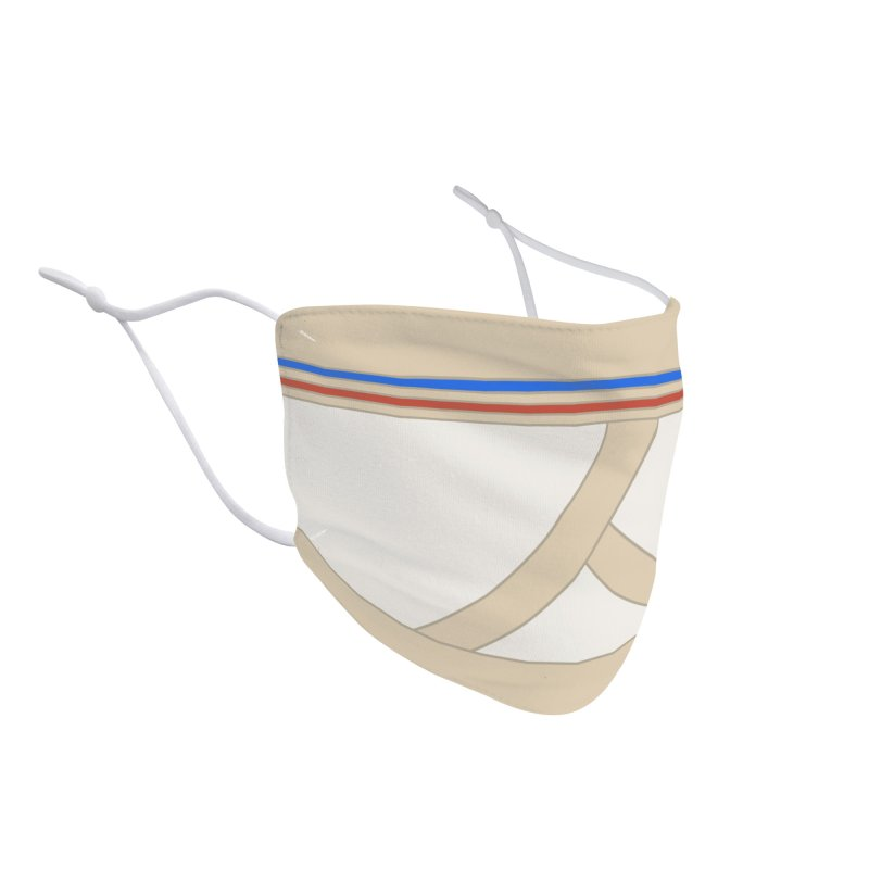 Overface Underpants Accessories Face Mask by Burrito Goblin