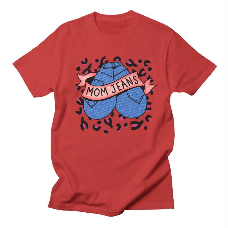 Mom Jeans <3 <3 <3 Men's Regular T-Shirt by Burrito Goblin