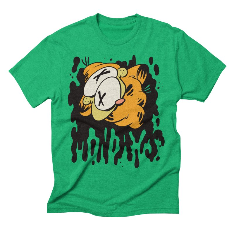 Mondays Men's Triblend T-shirt by Burrito Goblin