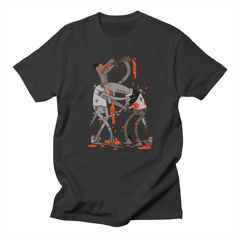 Drunk N Dinosaurderly Men's T-Shirt by Burrito Goblin
