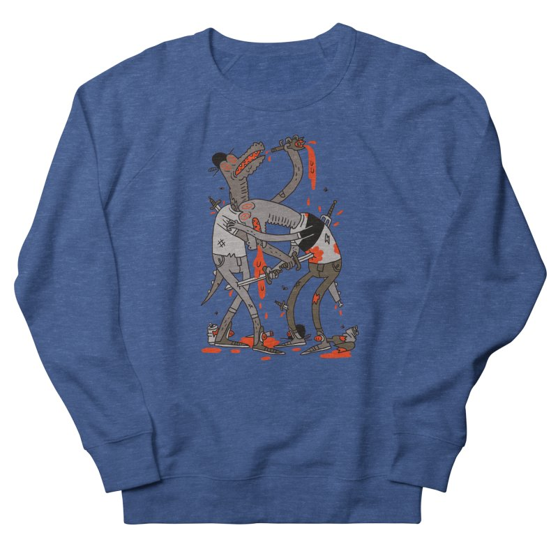 Drunk N Dinosaurderly Men's Sweatshirt by Burrito Goblin