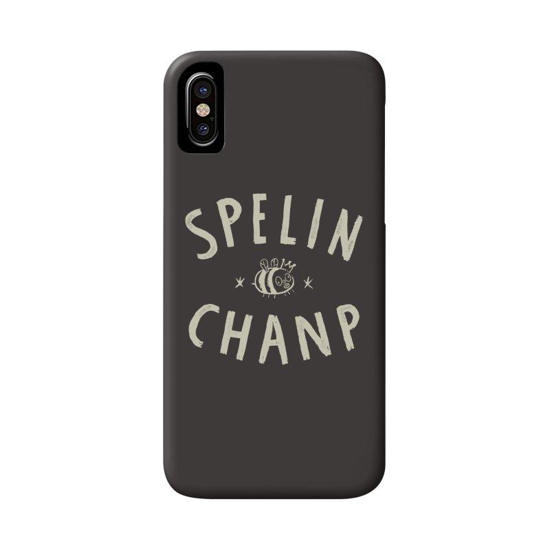 Spelin Chanp Accessories Phone Case by Burrito Goblin