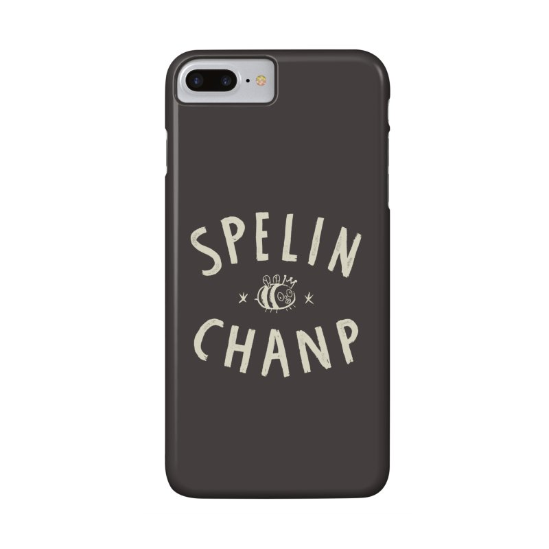 Spelin Chanp Accessories Phone Case by Burrito Goblin