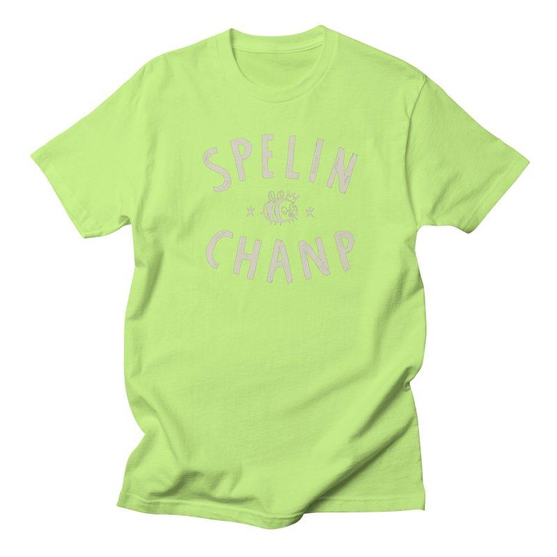 Spelin Chanp Men's Regular T-Shirt by Burrito Goblin