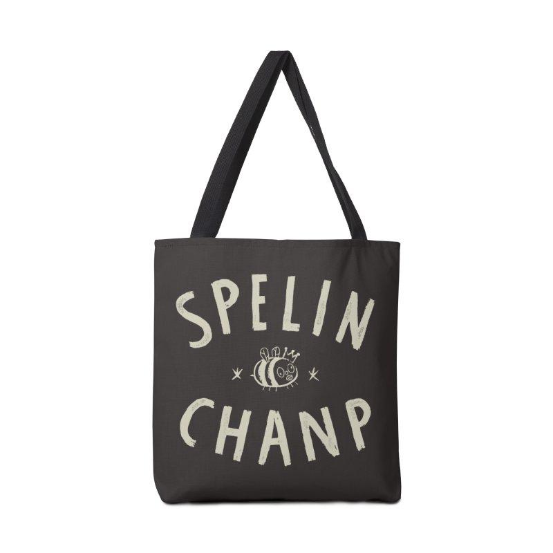Spelin Chanp Accessories Bag by Burrito Goblin