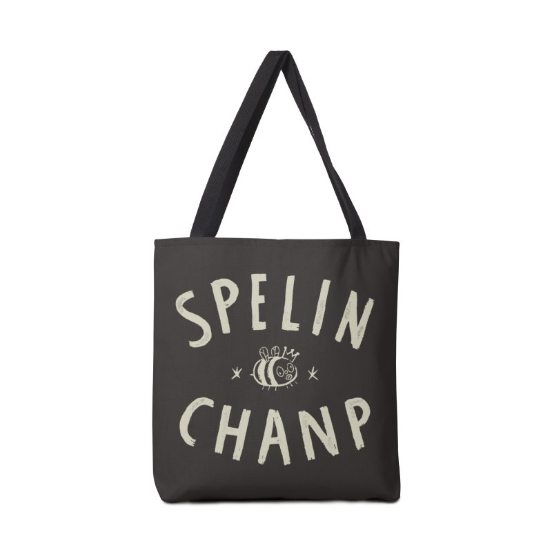 Spelin Chanp Accessories Bag by Burrito Goblin