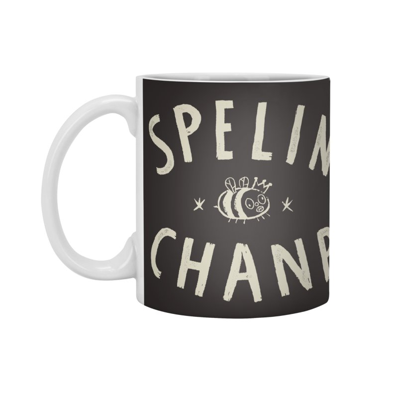 Spelin Chanp Accessories Standard Mug by Burrito Goblin