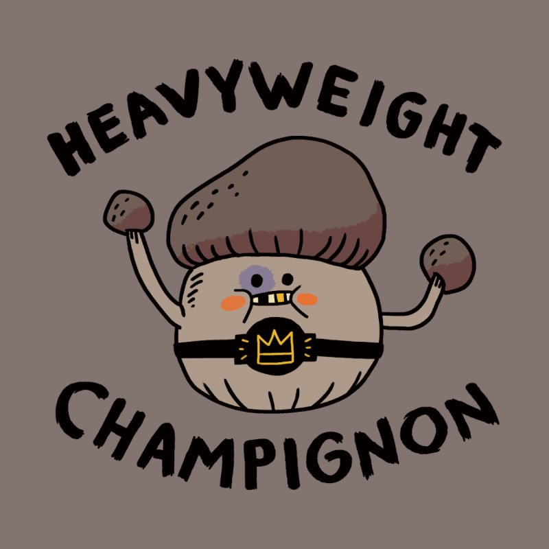Heavyweight Champignon Women's Longsleeve Scoopneck  by Burrito Goblin