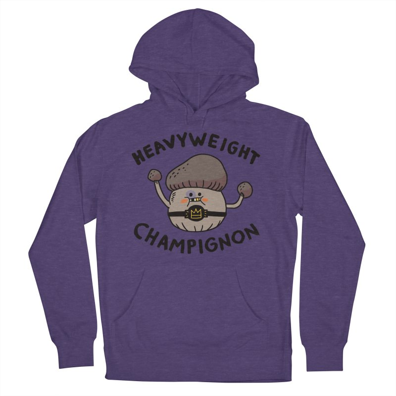 Heavyweight Champignon Women's French Terry Pullover Hoody by Burrito Goblin
