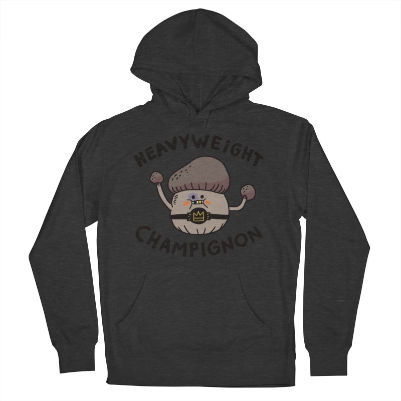 Heavyweight Champignon Men's Pullover Hoody by Burrito Goblin