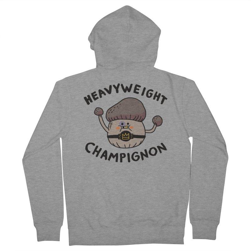 Heavyweight Champignon Women's Zip-Up Hoody by Burrito Goblin