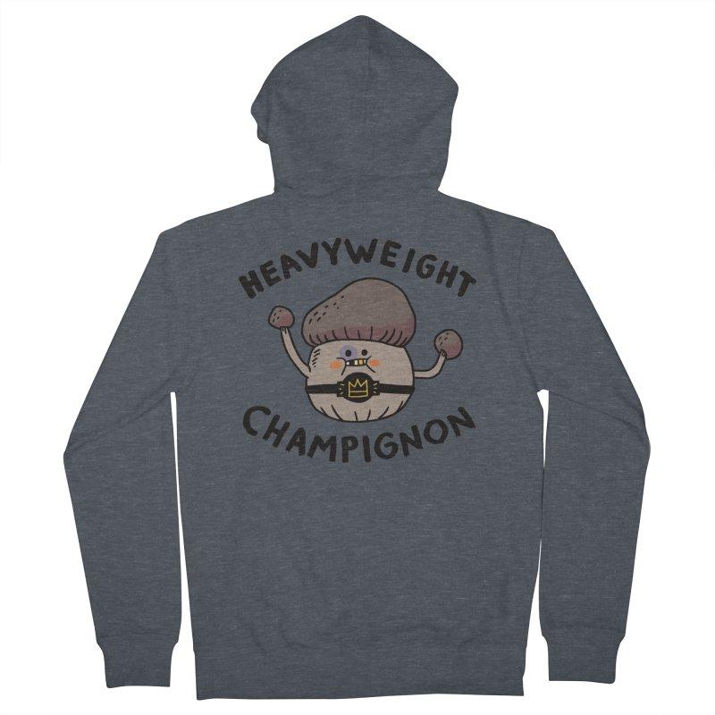 Heavyweight Champignon Men's Zip-Up Hoody by Burrito Goblin