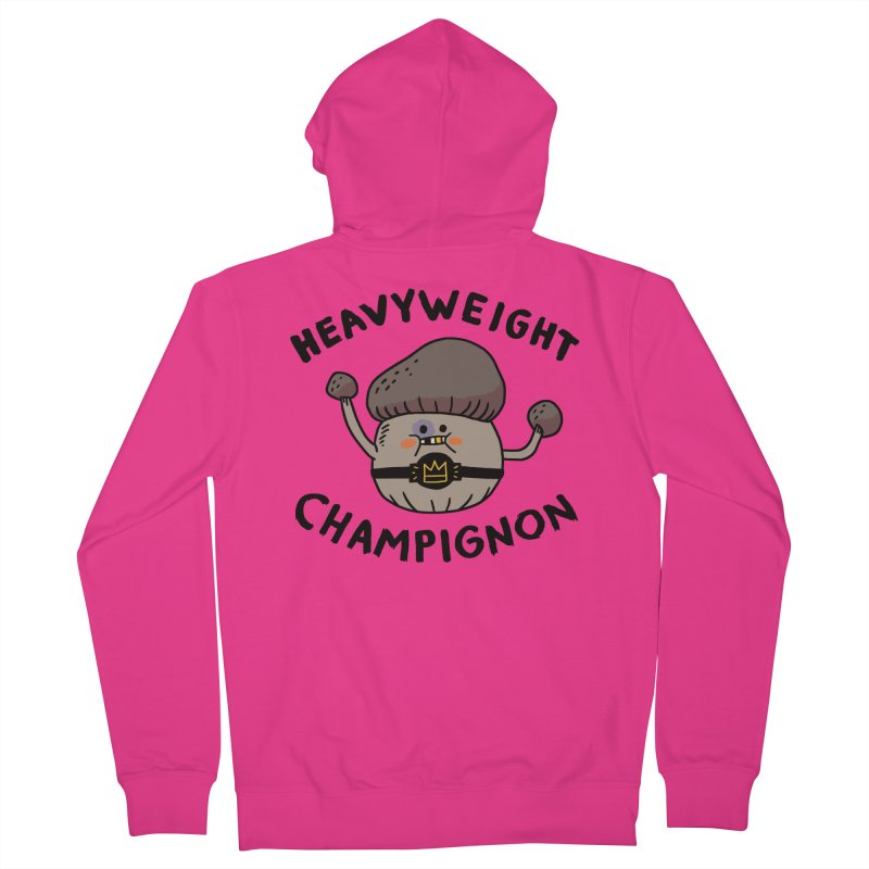 Heavyweight Champignon Men's Zip-Up Hoody by Burrito Goblin