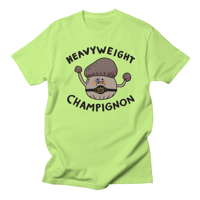 Heavyweight Champignon Men's Regular T-Shirt by Burrito Goblin
