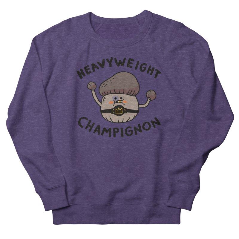 Heavyweight Champignon Women's French Terry Sweatshirt by Burrito Goblin