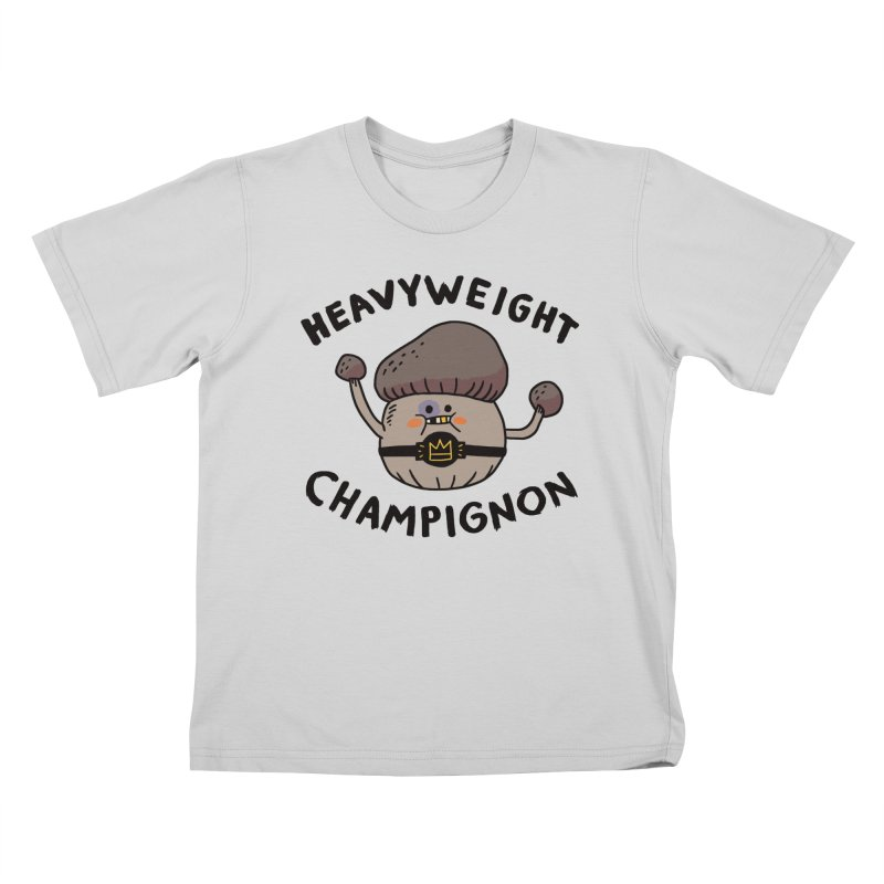 Heavyweight Champignon Kids T-Shirt by Burrito Goblin