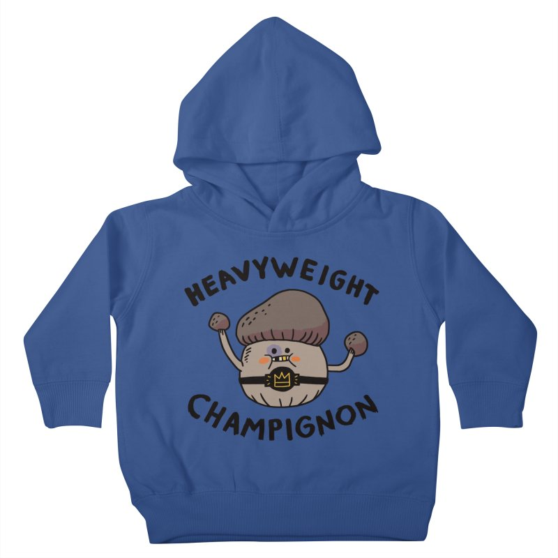 Heavyweight Champignon Kids Toddler Pullover Hoody by Burrito Goblin