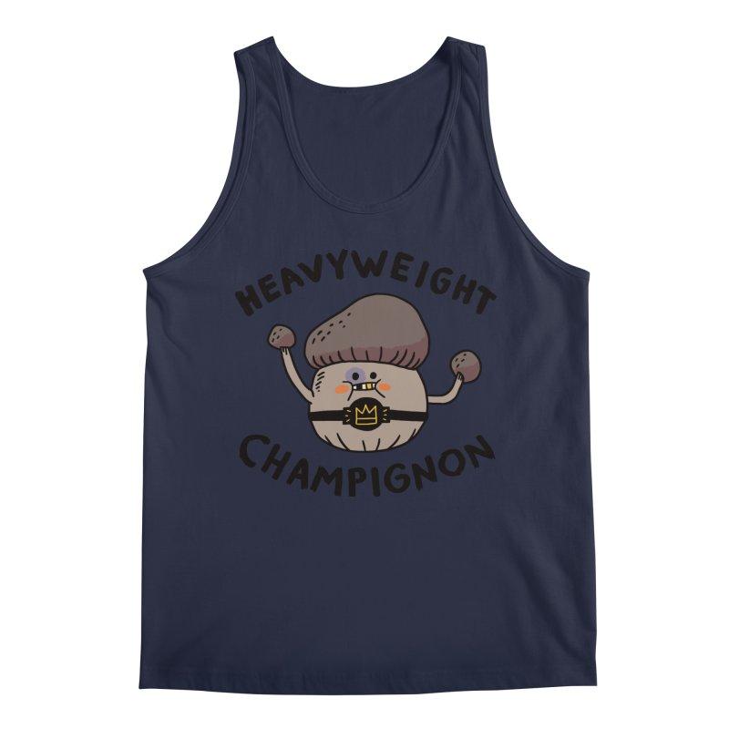 Heavyweight Champignon Men's Regular Tank by Burrito Goblin