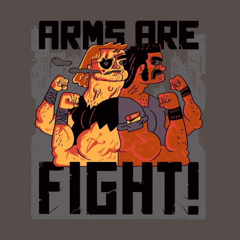 Arms are Fight! Men's T-Shirt by Burrito Goblin