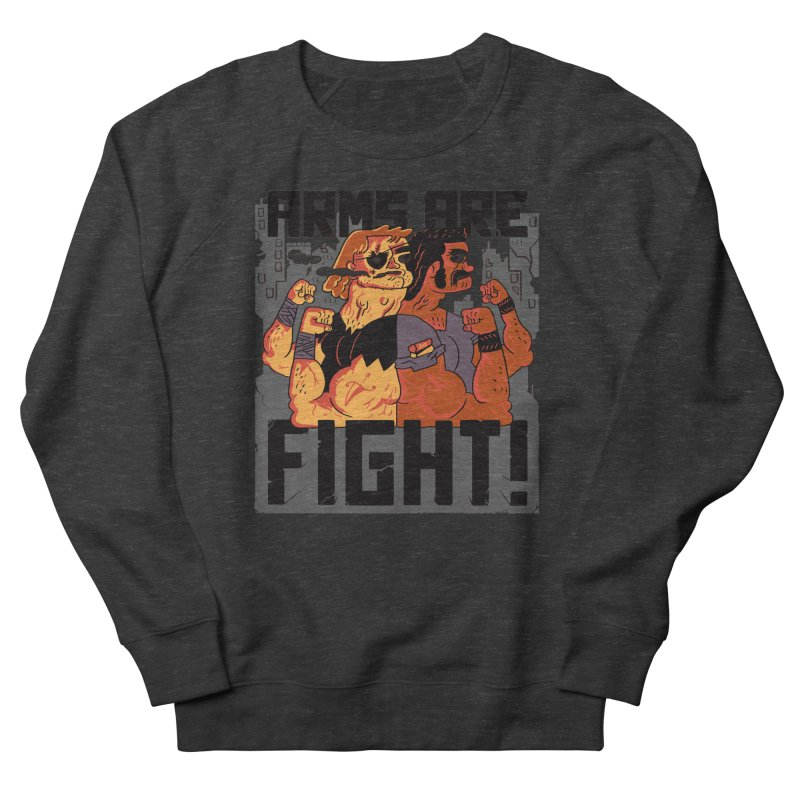 Arms are Fight! Men's  by Burrito Goblin