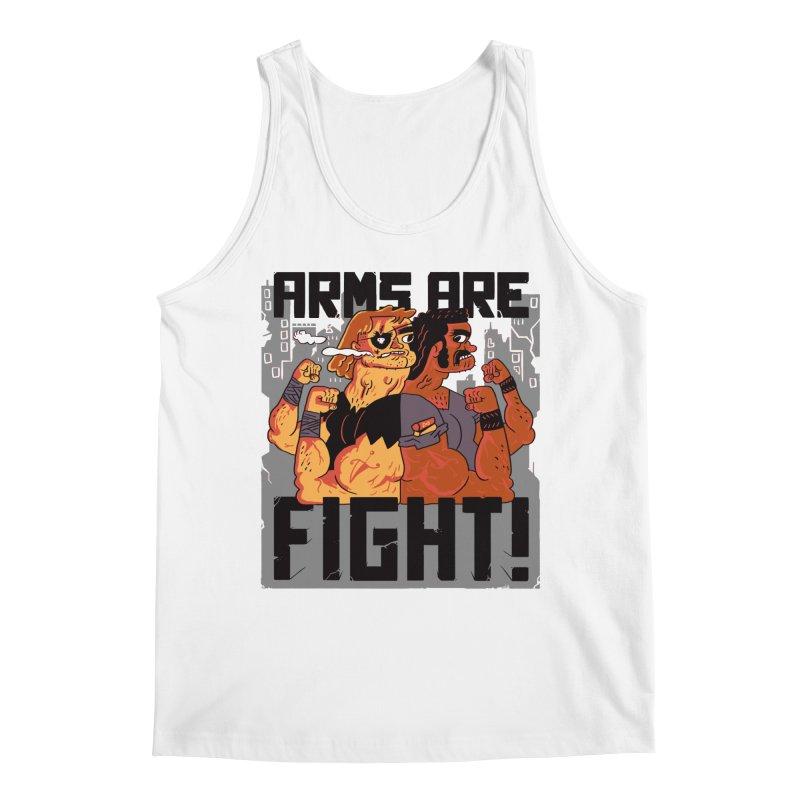 Arms are Fight! Men's Regular Tank by Burrito Goblin