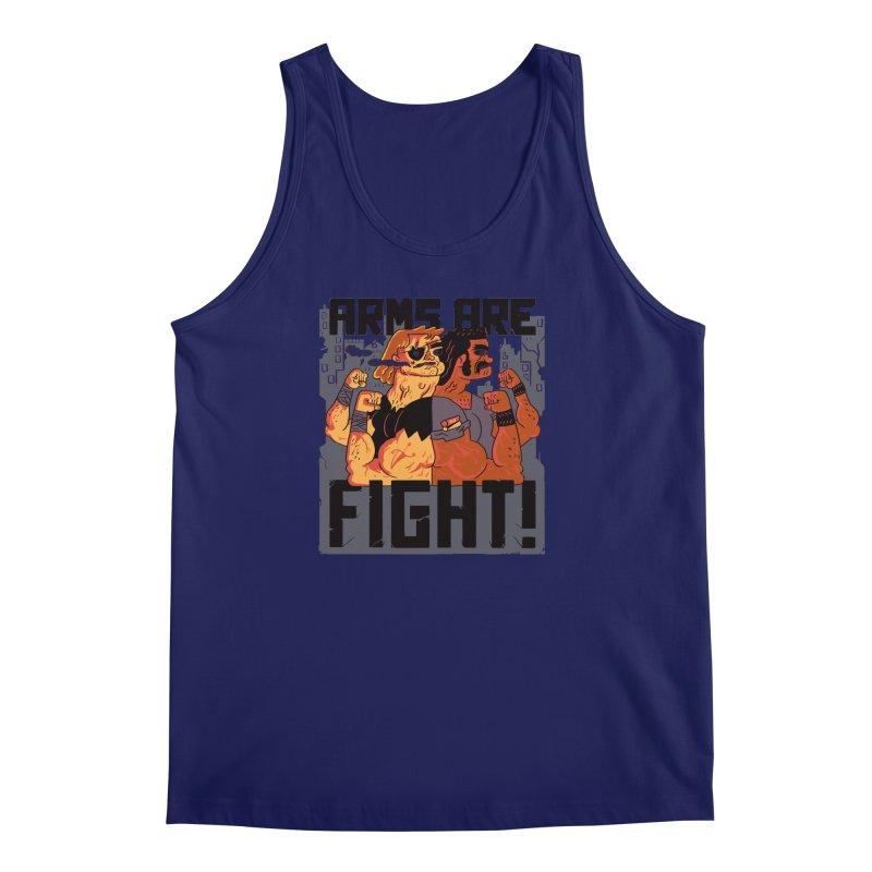 Arms are Fight! Men's Tank by Burrito Goblin