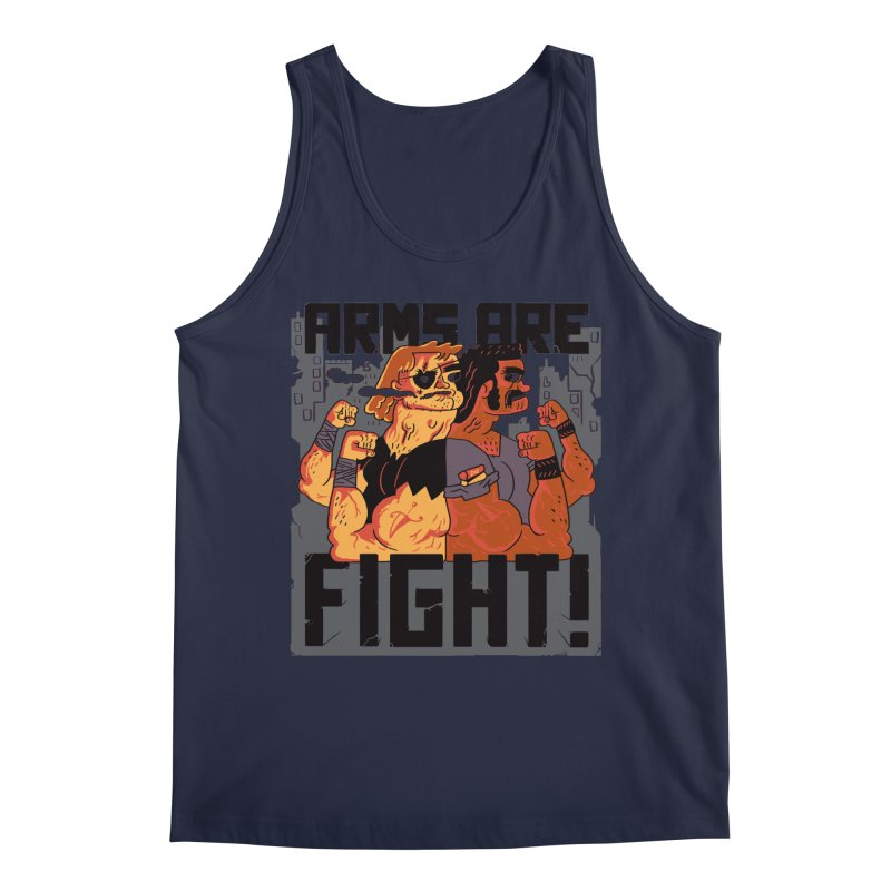 Arms are Fight! Men's Regular Tank by Burrito Goblin
