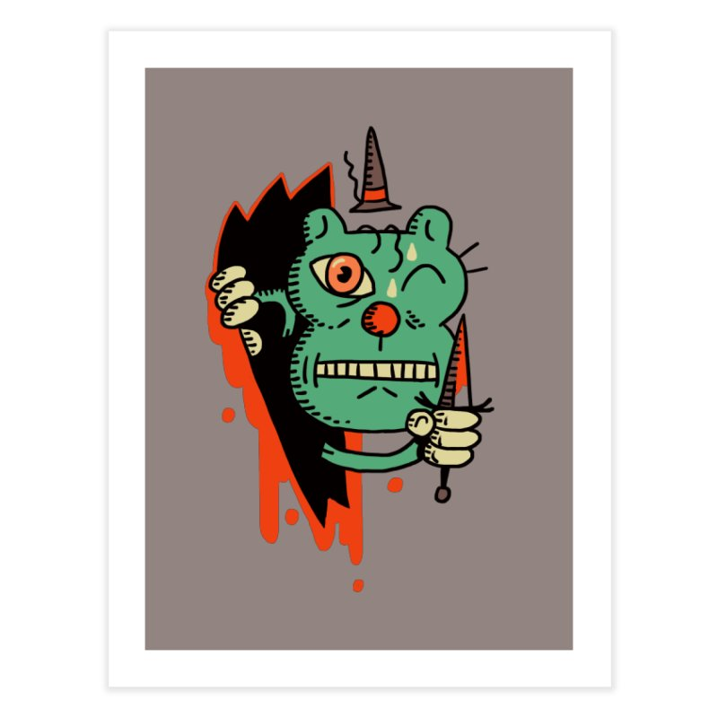 It's Pally! Home Fine Art Print by Burrito Goblin