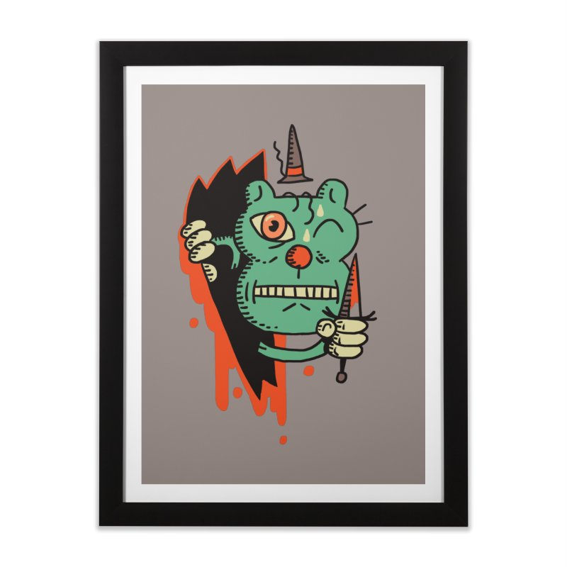It's Pally! Home Framed Fine Art Print by Burrito Goblin