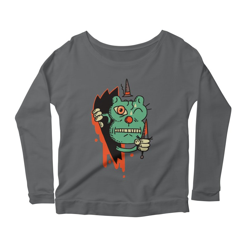 It's Pally! Women's Longsleeve Scoopneck  by Burrito Goblin