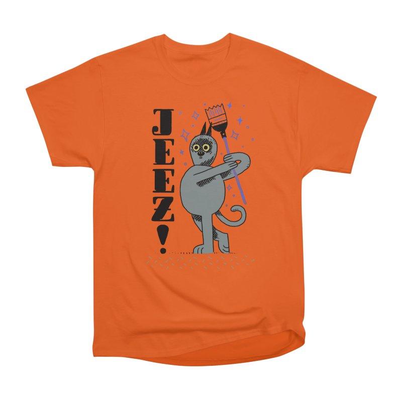 Jeez Men's T-Shirt by Burrito Goblin