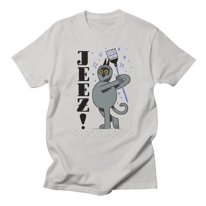 Jeez Men's Regular T-Shirt by Burrito Goblin