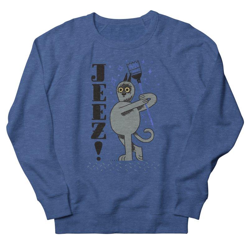 Jeez Men's Sweatshirt by Burrito Goblin