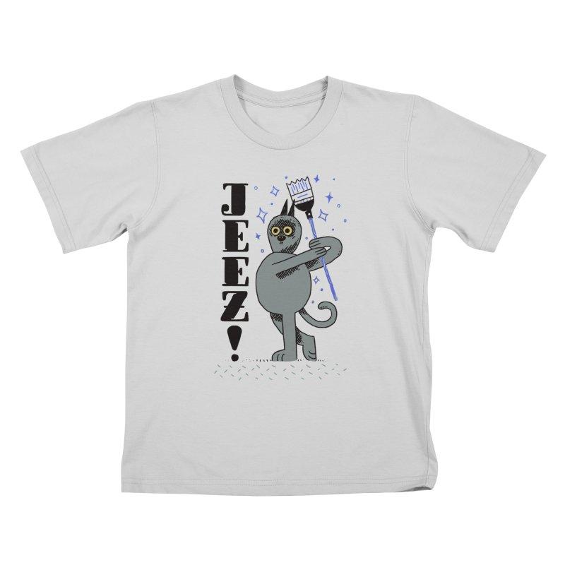 Jeez Kids T-Shirt by Burrito Goblin